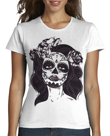 Idea para Sublimar Playera de Catrina